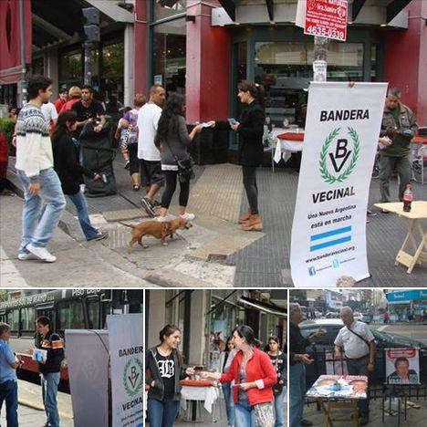 En campaña: Bandera Vecinal avanza en los barrios