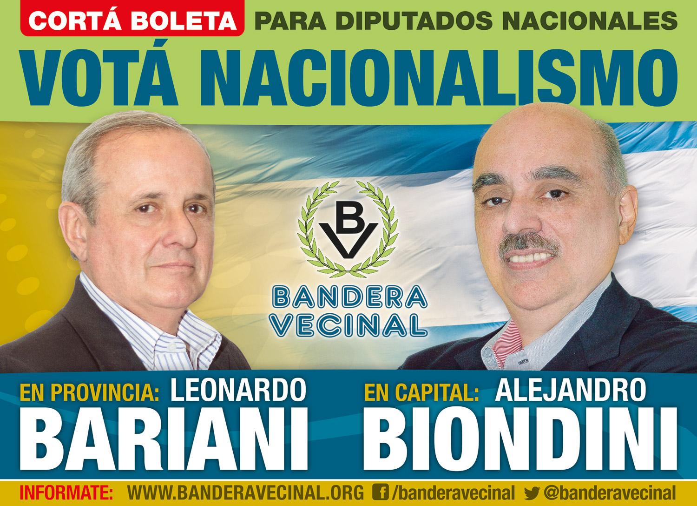 Afiche Biondini-Bariani
