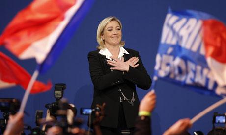 """Marine Le Pen: """"Nada nos detendrá"""""""