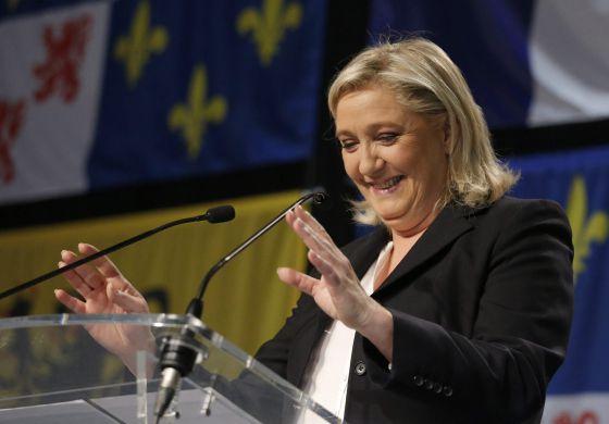 Marine Le Pen (foto EFE)