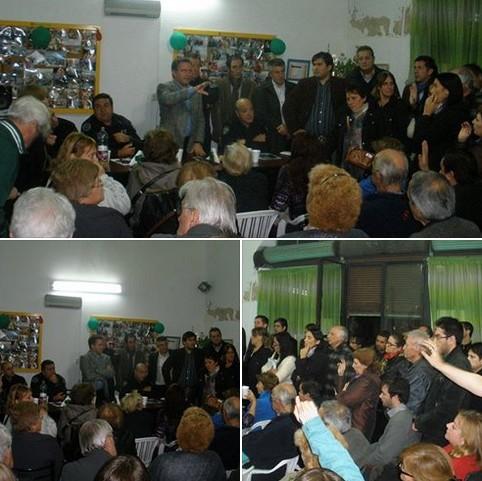 Comuna 7: Dirigentes de Bandera Vecinal participaron del 1er. Foro de Seguridad