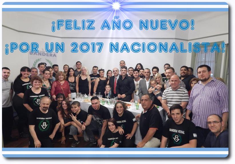 ¡Feliz Año Nuevo! ¡Por un 2017 Nacionalista!