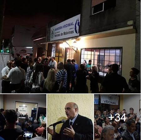 Inauguración: El Centro Patriótico