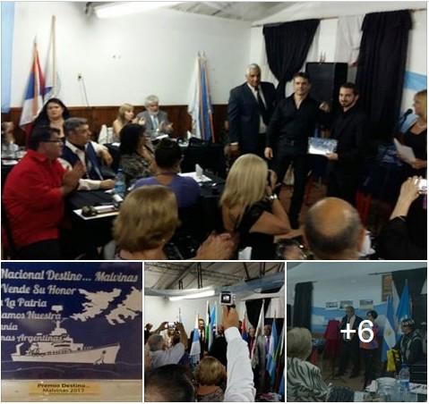 """Ver fotos: Radio AN24, la emisora patriótica de Argentina, recibió el Premio Nacional 2017 """"Destino Malvinas"""""""