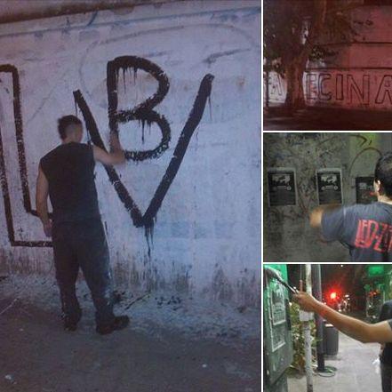 La Passaponti: La militancia juvenil nacionalista hace sentir cada vez su presencia en las calles de la Capital Federal